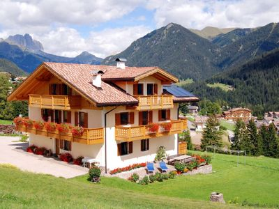 Photo for 2 bedroom Apartment, sleeps 4 in Vigo di Fassa with WiFi