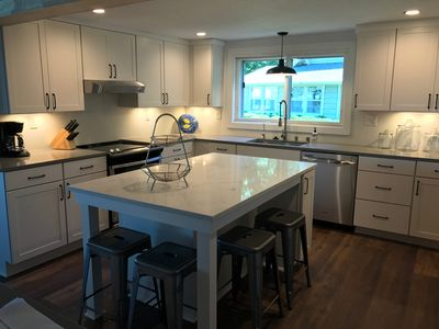 Spacious Kitchen for Gathering with Family and Friends