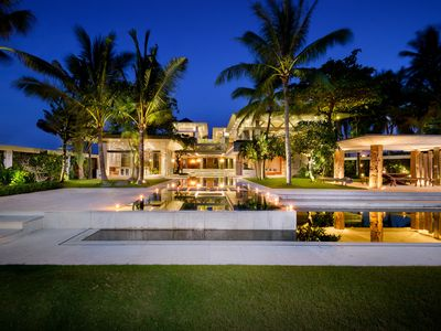 Photo for Beachfront, Luxury, 3 pools, wedding, family holiday in Bali
