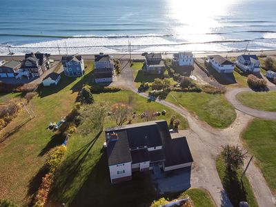 Photo for Grandiose and Modern home at Long Sands Beach. Water views from every room.