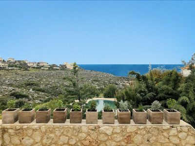 Photo for Villa Panorea 5 Bedrooms, pool, 80m path to sea, MAY SPECIAL OFFER!