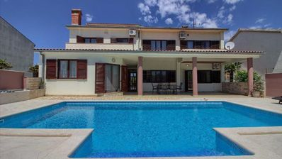 Photo for Holiday house Pula for 1 - 8 persons with 4 bedrooms - Holiday house