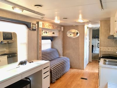 Photo for Low key Studio RV with private parking if needed