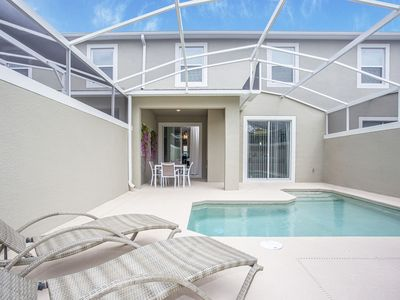 Photo for Stunning 4 Bedroom w/ Pool at Champions Gate Resort 284