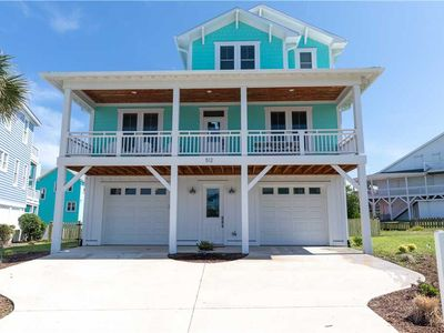 Photo for Kure Cure: 5 BR / 3.5 BA single family home in Kure Beach, Sleeps 12