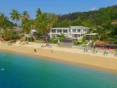Photo for FREE $1600 Daily Luxury Pack - 16-Bed Beachfront Villa - Private Pool, Spa & Gym