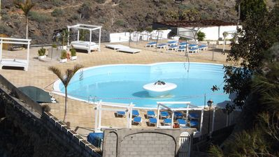 Photo for BEAUTIFUL DUPLEX 8 PEOPLE 2nd LINE OF SEA IN FRONT OF LA GOMERA