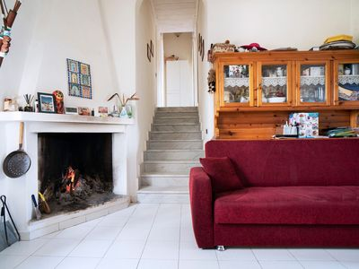 Photo for Cottage Casa Carla near the Beach with Air Conditioning, Garden & Terrace; Parking Available, Pets Allowed