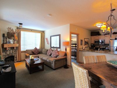 Photo for Juniper #351 -End Unit with Mountainside Views! Pool, spas, coffee shop, & gym!