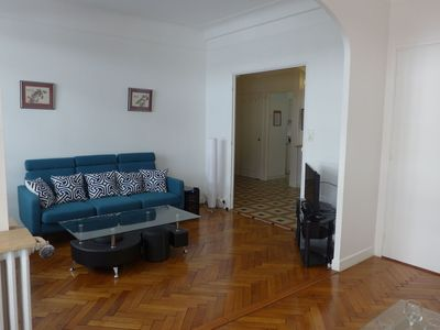 Photo for Cosy apartment for 5 people with WIFI, A/C, TV, balcony and parking
