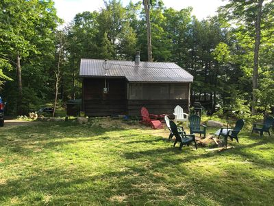 Photo for The Knoll~ Lake Front Cabin on Beautiful Lincoln Pond!