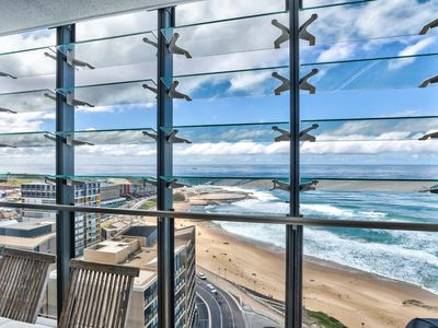 Photo for Right in Newcastle East with panoramic ocean views.
