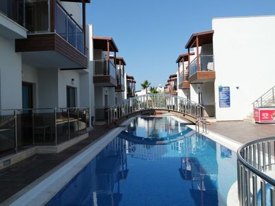 Photo for Luxury self catering 1 bedroom holiday apartment for rent in Turgutreis/Bodrum
