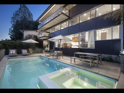 Photo for Architectural LA Dream! Mid-century Modern Masterpiece With Pool and Hot Tub