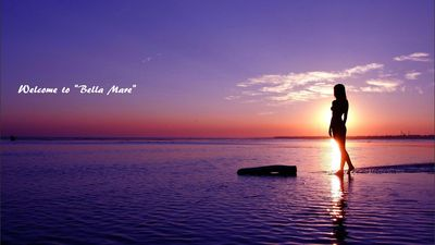"""Welcome to beautiful         """"Bella Mare"""""""