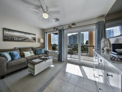 Photo for Gulf views, washer/ dryer in the condo, sleeps 5. WiFi, Resort pools