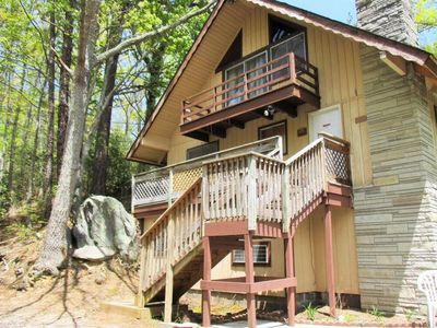 Photo for Family-Friendly Mountain Chalet w/ Fireplace, Deck, Gas Grill & Free WiFi