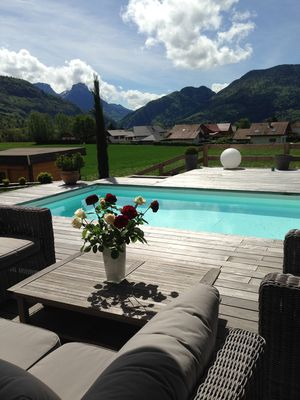 Photo for House with pool Annecy Lake and Mountains