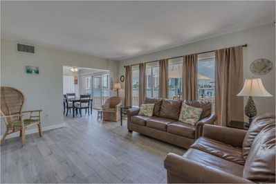 Beautiful and Spacious Living room w/water view