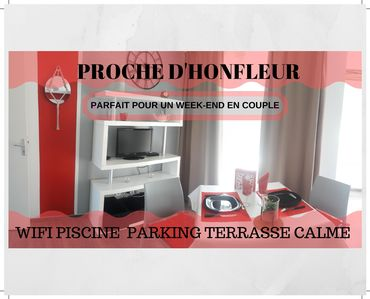 Photo for PROXIMITY HONFLEUR WIFI PARKING SWIMMING POOL