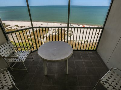 Photo for 2/2 gulf front condo at south end of Ft. Myers Beach