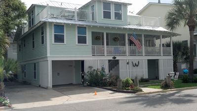 Photo for Ocean View Home on the beach side of Butler Avenue