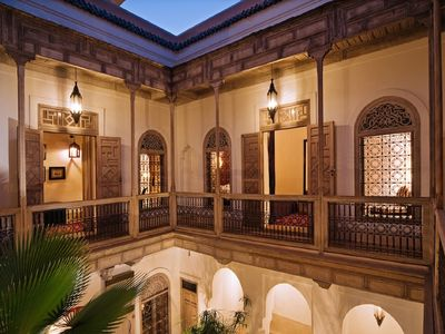Photo for Exclusive rental - Authentic 4 bedroom riad, fully staffed, with pool & hammam