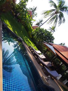 Private pool and Sala