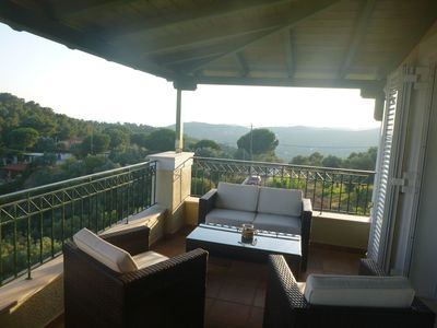 Photo for Villa Heliotropio with Magnificent View for Relaxed Holidays Skiathos