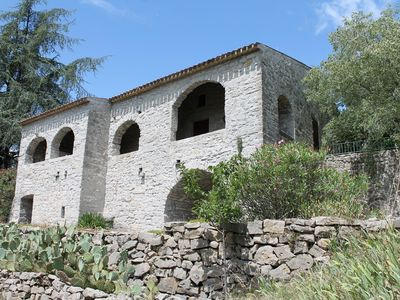 Photo for House of country rocks on 15000 m2 of land with private pool.