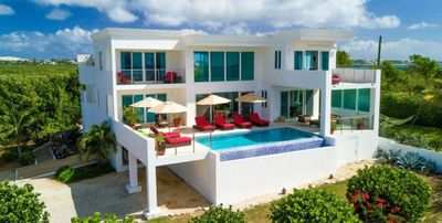 Photo for Villa Tequila Sunrise  -  Beach View - Located in  Beautiful Dropsey Bay with Private Pool