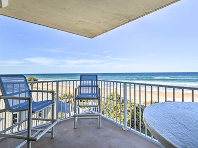 Photo for NEW! Luxe, Oceanfront Condo w/ Pool & Beach Gear!