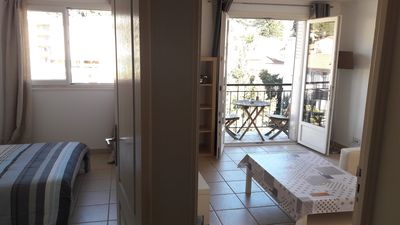 Photo for Cannes 2rooms 1bedroom 1 double bed 2persons parking