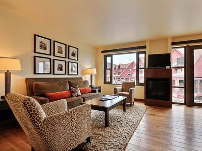 Photo for Ski-In/Ski-Out 2 Bedroom/2 Bath Suite at Park City Base | Maid Service Incl.