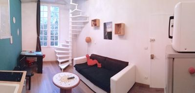 """Photo for """"Central Duplex"""", T2 35m2, Duplex very bright and quiet, free wifi"""