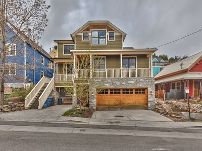 Photo for Swanky Old Town Mansion - Walk to Main & Town Lift + Hot Tub, Patio & Ample Parking