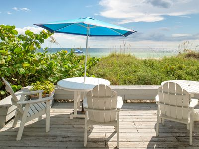 Photo for Mainsail Beach Inn 2 Bedroom Beach Front Unit