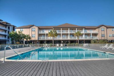 Photo for WJ AA  Enjoy the beautiful views of the sound and Sunset Beach from this condo.