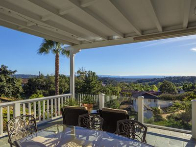 Photo for Amazing ocean view home on 1.3 acres, perfect for intimate events!: Ocean Vista Retreat