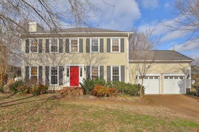 Parking - Welcome to Franklin! Your rental is professionally managed by TurnKey Vacation Rentals. On the quiet neighborhood street, the stone-paved driveway has parking for 2 cars.