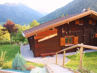 Photo for Typical Savoyard chalet, independent, warm and cozy