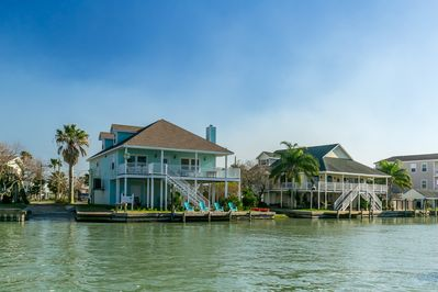 1st house as you come into the canal from bay  great fishing &great views