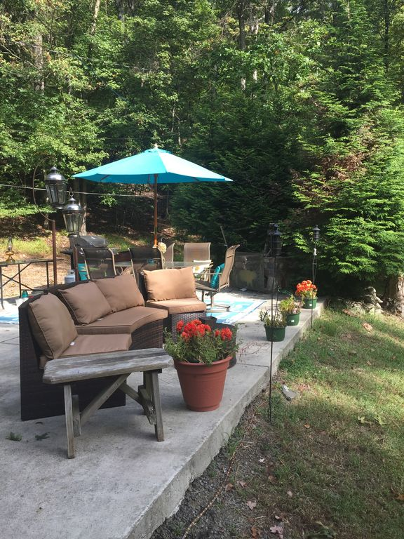 Escape To Rustic Waterfront Luxury Bushkill Poconos