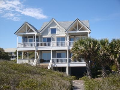 Photo for Summer Special! Beachfront 5 Bedroom, Elevator, Private Boardwalk to Beach
