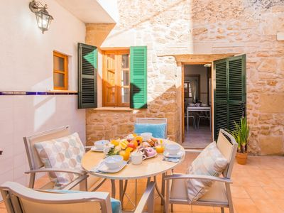 Photo for 3 bedroom Villa, sleeps 6 in Alcúdia with Air Con and WiFi