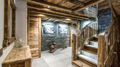 Photo for Chalet Chal'heureux - Simply stunning new chalet hand built by a master craftsman - 5 bedrooms