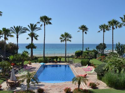 Photo for Villa 34121225 Luxury Villa directly at beach Guadalmina Baja Marbella