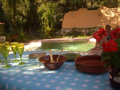 Photo for Casita with mountain views, jacuzzi and pool