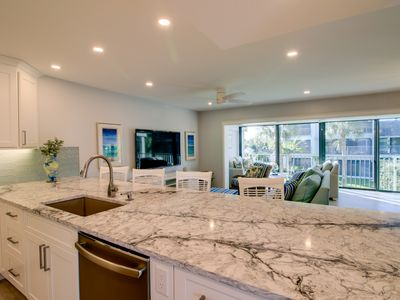 Photo for Mariner Pointe 732: New Gorgeous Remodel and Stunning Canal & Side Bay Views!