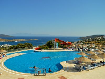 Photo for Rental Club Bodrum 1+1 Apart 1. Between Bitez and Gumbet, 500 m far from the sea